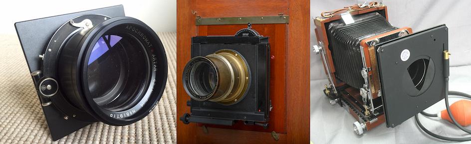 Shutters Options for Barrel Lenses